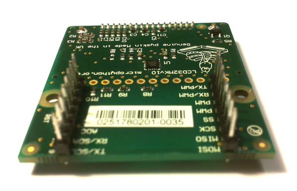 pyboard with LCD skin